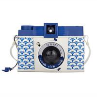 lomography 乐魔 Diana 戴安娜 F+120胶片相机连闪光灯 胶卷相机 青海波限量版