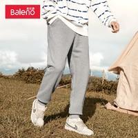 Baleno 班尼路 88039012 加厚针织束脚卫裤