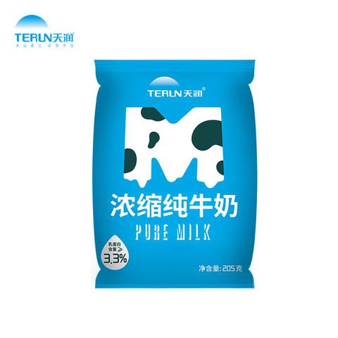 TERUN 天润  M枕纯牛奶  205g*20袋