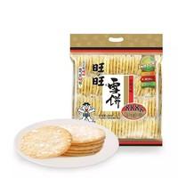 Want Want  旺旺 雪饼米饼大礼包 888g*2件+ 李锦记薄盐生抽1750ml*2+味蚝鲜680g*2酱油*2件