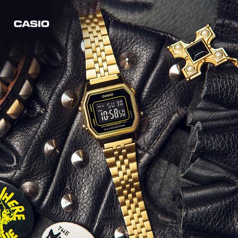 CASIO 卡西欧 LA670WGA/LA680WGA 复古小金表