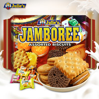 julies茱蒂丝 4口昧夹心饼干210g*1大袋
