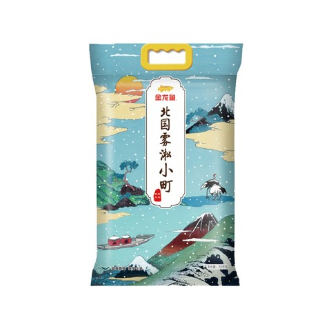 88VIP:金龙鱼 北国雾淞小町 东北大米 10kg *3件