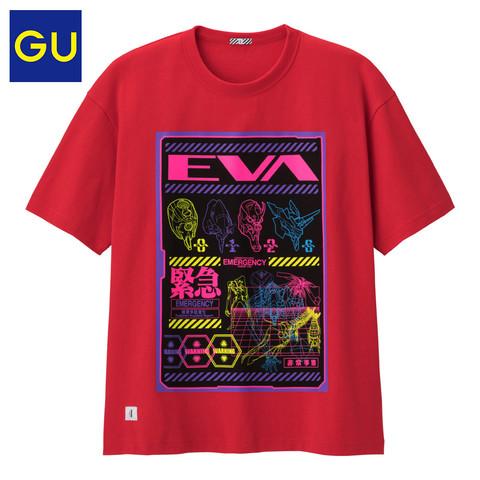 GU 极优 x 新世纪福音战士 326261 男士短袖T恤