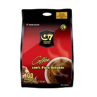 G7 COFFEE  中原咖啡 美式黑咖啡 20g*100条