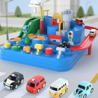 The North E home 北国e家儿童玩具套装大冒险+2辆小汽车