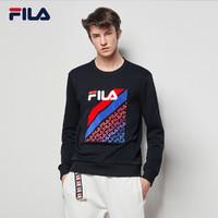 FILA 斐乐 F11M038204F 男士运动卫衣