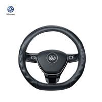 上汽大众原厂车用运动/经典系列方向盘 黑色畅享方向盘套 四季可用 经典款适用于圆形方向盘 *3件