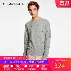 GANT/甘特春夏 男士滑雪主题刺绣印花T恤卫衣长袖2026017 *7件