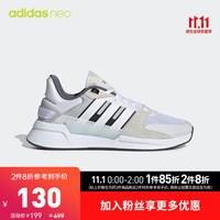 阿迪达斯官网 adidas neoRUN90S男子休闲运动鞋EF0582 EH3417 白/白/白/EF0582 40.5(250mm)