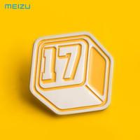 魅族(MEIZU) Pandaer魅族17纪念徽章 金属黄