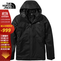 THE NORTH FACE 北面 4NCL 男士三合一冲锋衣