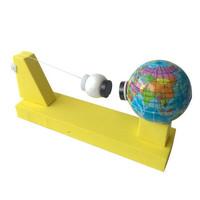 乐加酷  创意小制作地球月球 万有引力