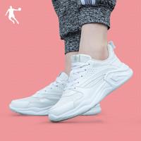 乔丹运动鞋女鞋2020秋季新款革面潮流休闲学生官方正品轻便跑步鞋