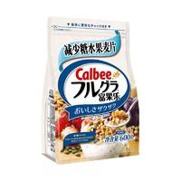 Calbee卡乐比 减糖麦片600g+水果麦片700g+ 旺旺仙贝大礼包888g*2件 +凑单品