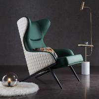 Visney 卫诗理 A1 轻奢实木美式休闲沙发椅