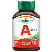 1日0点、88VIP:Jamieson 健美生 维生素A软胶囊 100粒 *2件