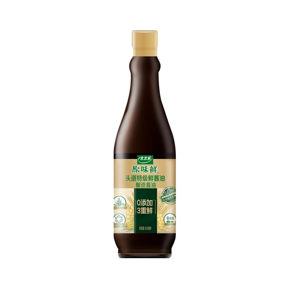 太太乐 原味鲜特级鲜酱油 900ml