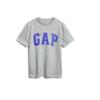Gap 盖璞 男童纯棉短袖T恤 573679 浅灰色 110cm(XS)