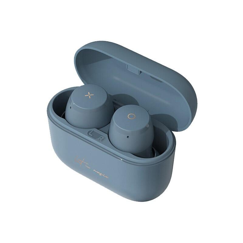 EDIFIER 漫步者 MiniBuds 真无线入耳式耳机 雾霾蓝