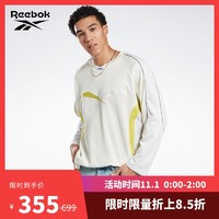 Reebok锐步官方 运动经典AWAKE HOCKEY JERSEY男女休闲卫衣FR9928