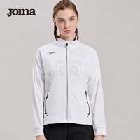 JOMA荷马女秋冬季针织外套休闲时尚开衫跑步外套