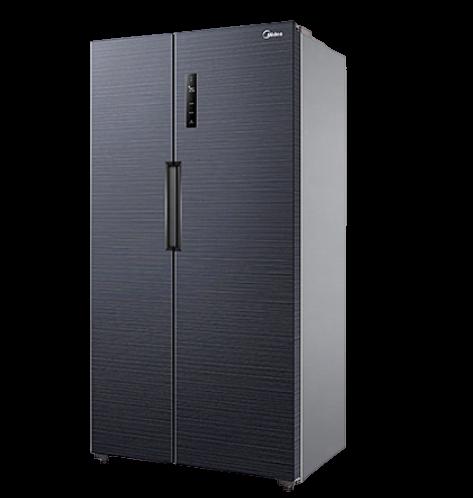 Midea 美的 美的(Midea)540升果润维C双开门电冰箱对开变频风冷无霜一级能效母婴速冷大容量智能家电BCD-540WKPZM(E)