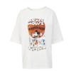 ONLY 米奇系列女士纯棉卡通印花短袖T恤120101636 奶油白色S