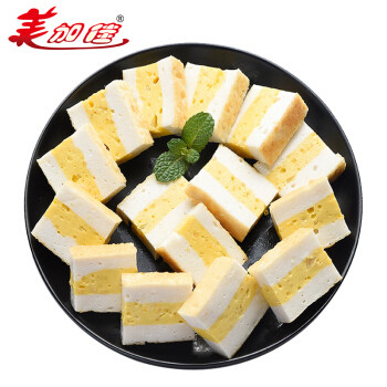 美加佳 彩虹鱼豆腐 150g 袋装 鱼籽糕 火锅丸类关东煮食材 海鲜水产 *10件