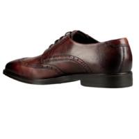 ECCO 爱步 Melbourne墨本系列男士皮革系带德比鞋 棕色45