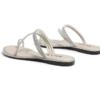 BeLLE 百丽 女士钻条平底低跟休闲凉鞋3RA30BT0 米色35