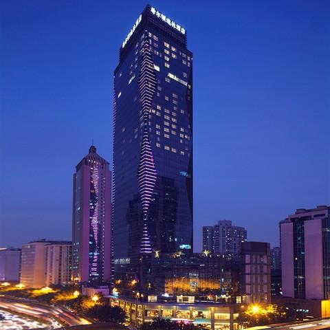 广州汇华希尔顿逸林酒店 大床房1晚(含广式点心)