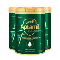 Aptamil爱他美 奇迹绿罐婴幼儿配方奶粉1段 900g *3罐