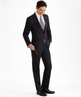 Brooks Brothers/布克兄弟 男士Regent Fit Three-Button 1818 Suit套装