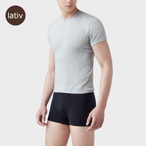 lativ 诚衣  43385男士打底纯色基础内裤