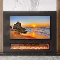 TCL 75V8  75英寸4K超高清全面屏声控智能网络平板液晶电视 70