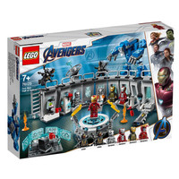 LEGO 乐高 超级英雄系列 76125 钢铁侠机甲陈列室