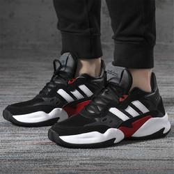 adidas/阿迪达斯  NEO男鞋新款时尚运动鞋低帮轻便透气休闲鞋
