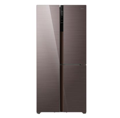 Midea 美的 美的(Midea)443升 对开三门冰箱家用双变频风冷无霜零度保鲜玻璃面板电子控温节能 BCD-443WKGPZM(E)