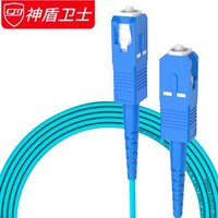 神盾卫士(SDWS)光纤跳线SC-SC 3米OM3多模双芯万兆工业电信级 *3件