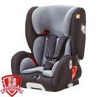 gb好孩子高速汽车儿童安全座椅 ISOFIX接口 L.S.P 侧撞保护系统CS860-N020 黑灰色(9个月-12岁)