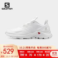 萨洛蒙(Salomon)男款 户外运动透气减震轻便舒适越野跑鞋 SUPERCROSS BLAST 白色 411069 UK7.5 (41 1/3)