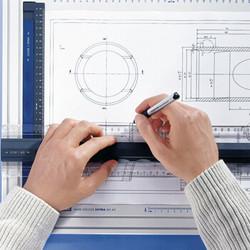 STAEDTLER 施德楼 多功能刻度 建筑机械绘图板 A3