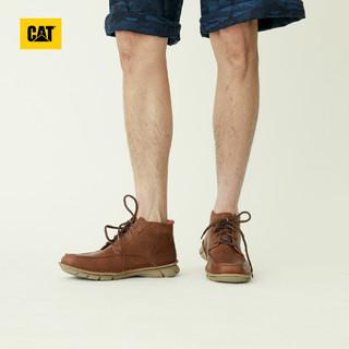 CAT 卡特 P723615I3UDC14 牛皮革休闲靴