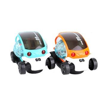 JIMITU 吉米兔 360度旋转电动万向3D灯光玩具车 双色可选