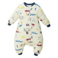 棉布树 儿童加厚款防踢被纯棉婴儿分腿睡袋