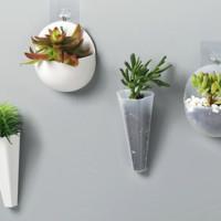 优斯哲 创意居家水培壁挂式花盆 4件套