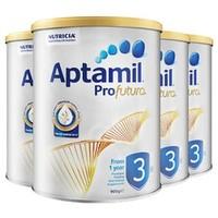 Aptamil 澳洲爱他美 白金版 婴幼儿奶粉 3段 900g 4罐