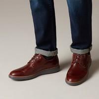 Clarks 261367767 Un Voyage Plain 男士商务休闲皮鞋
