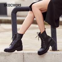 1日0点截止 : SKECHERS 斯凯奇 167059 女厚底马丁靴
